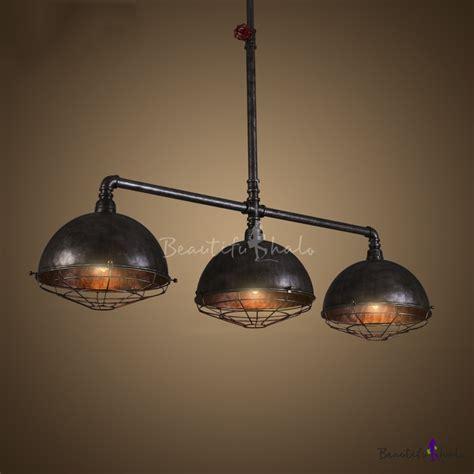 iron pipe light fixture buy vintage industrial iron pipe 3 light indoor ceiling