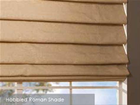 Hobbled Roman Shades  Home Decor