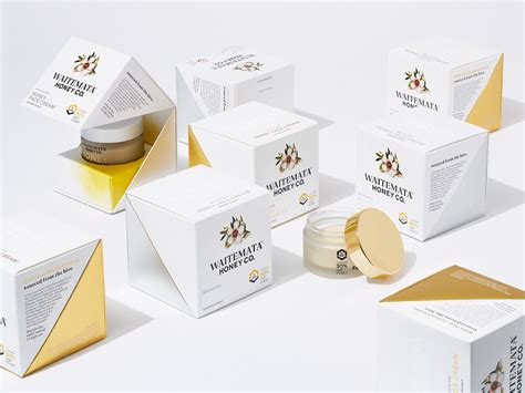 waitemata honey face cream  packaging   world