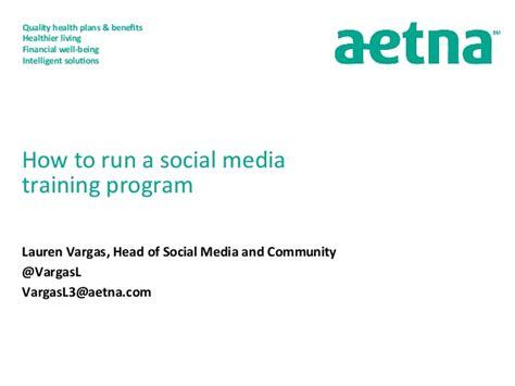 social media certificate programs how to run a social media program presented by