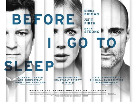 Film Forum 'before I Go To Sleep'  March 16, 2015 Kpbs