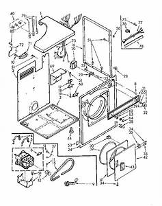 Kenmore Dryer Idler Pulley Diagram
