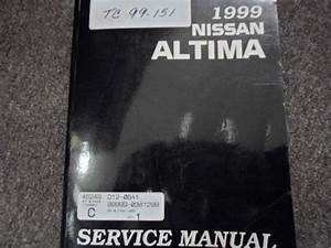 1999 Nissan Altima Service Shop Repair Manual Workshop