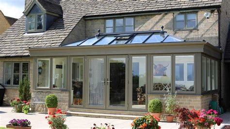 Orangeries   Timber Effect Orangery   Evolution Windows