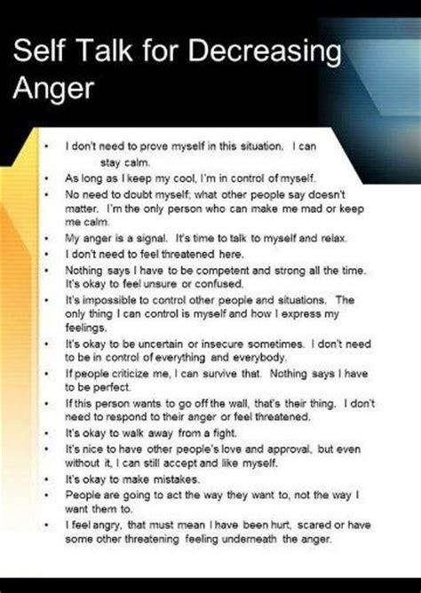 talk  decreasing anger govern