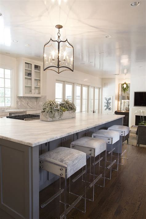 kitchen island chairs kendra s kitchen and lucite bar stools kendrascott