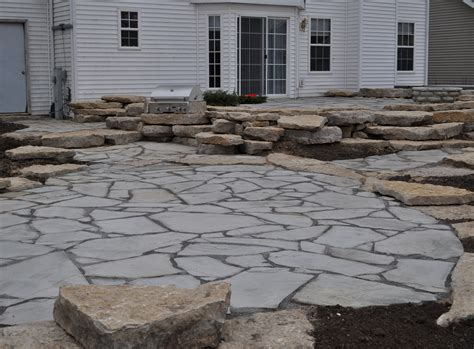 rockford brick paver landscape features brick paver