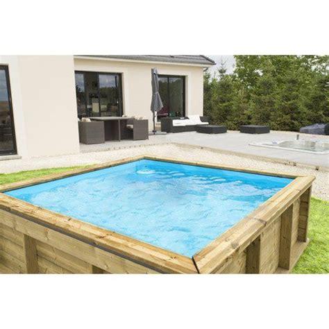 leroy merlin piscine hors sol bois pistoche l 2 26 x l 2 26 x h 0 68 m 749 piscine