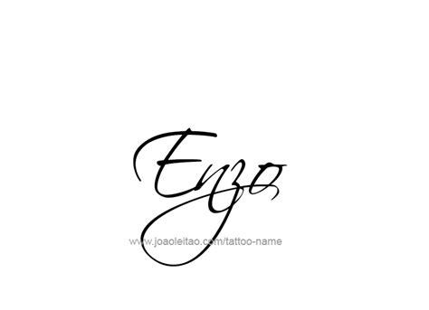 enzo  tattoo designs