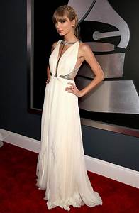 Taylor Swift Safe And Sound White Dress