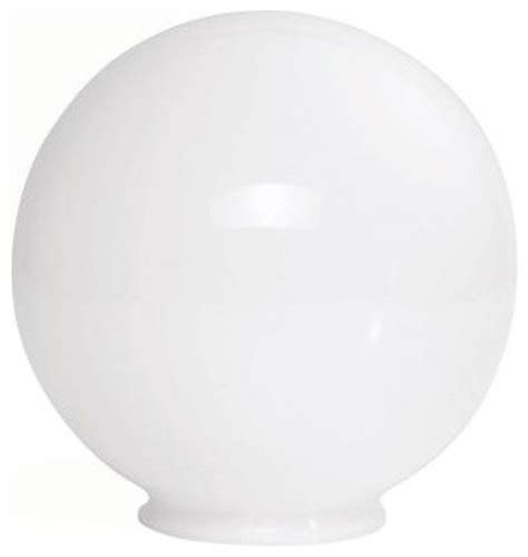 8 in diameter plastic replacement globe contemporary