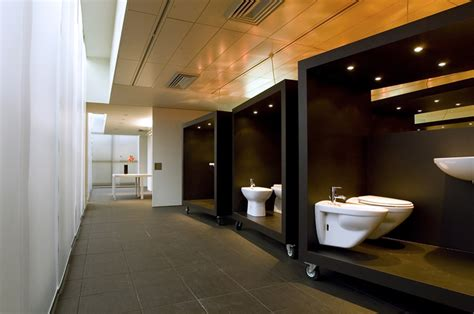 bathroom design stores hatria showroom by paolo cesaretti retail design