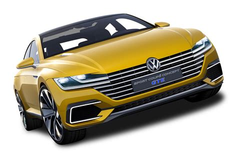 Sport Cars Png by Yellow Volkswagen Sport Coupe Gte Car Png Image Pngpix