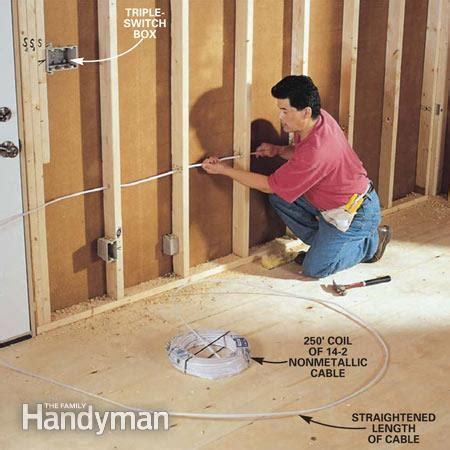 rough  electrical wiring  family handyman