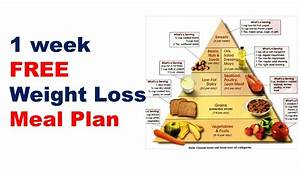Free Weight Loss Meal Plan  Diet Plan For Weight Loss  Meal Plan For Losing Weight Fast
