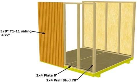 storage sheds plans 8x8 plans for garden shed with porch
