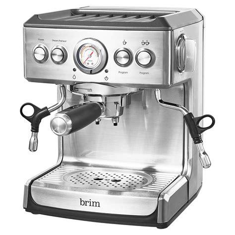Brim's 8 cup pour over coffee maker isn't. 15 Bar Espresso Maker - BRIM