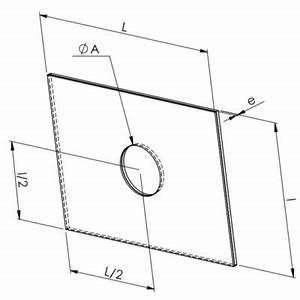 Plaque Aluminium 5mm : plaque bim tallique trou de 16 5mm plaques bim talliques ~ Melissatoandfro.com Idées de Décoration