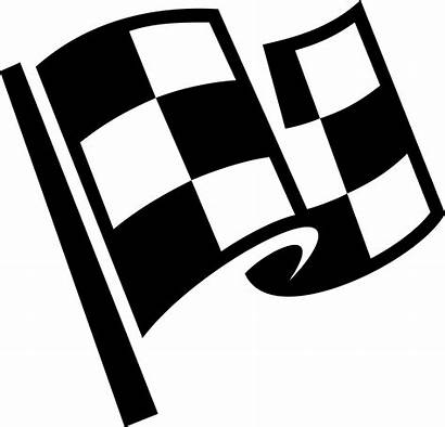 Clipart Race Flags Flag Transparent Checkered Webstockreview