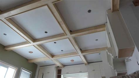 Simple Coffered Ceiling by Faux Using Trimgrade X And Rhpinterestcom U Simple