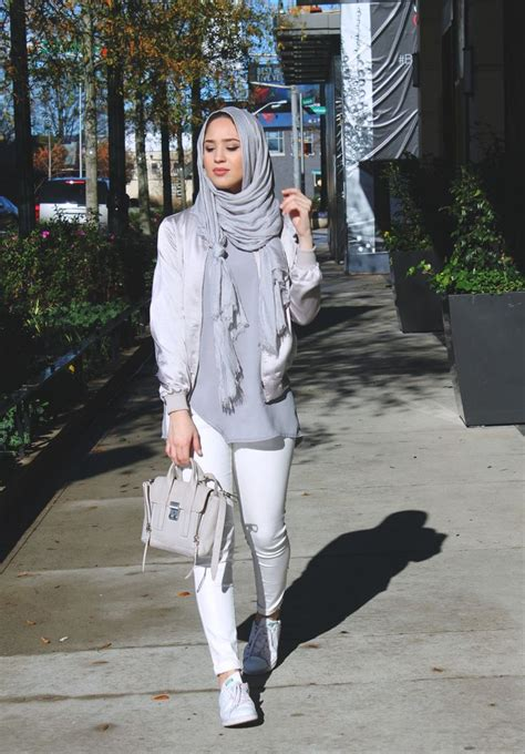 silky bomber jacket hijab fashion hajib fashion muslim women fashion