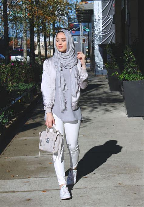 maria alia silky bomber jacket beautiful hijab hijab