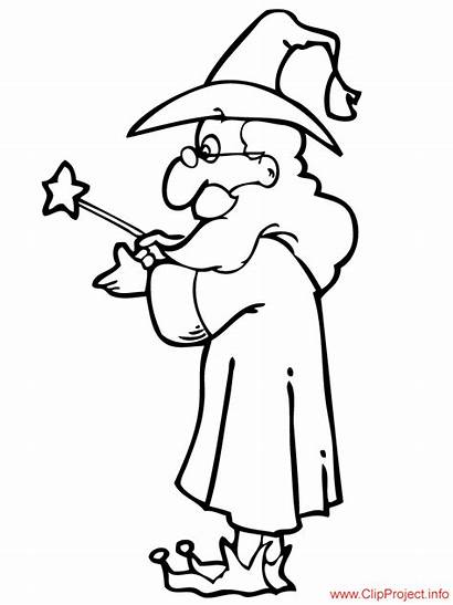 Wizard Coloring Magician Pages Sheet Sheets Adult