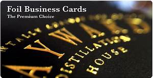 business cards gold foil lettering choice image card With gold lettering business cards
