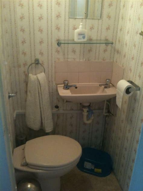 refit  small cloakroom bathroom fitting job  west