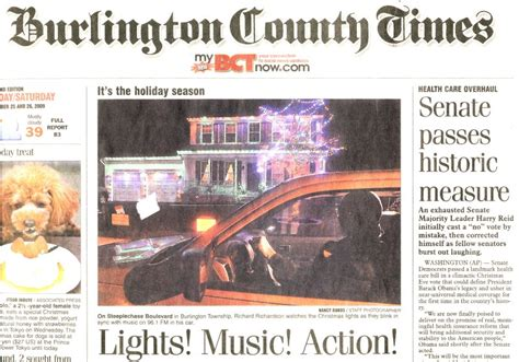 burlington county times phone number burlington lights