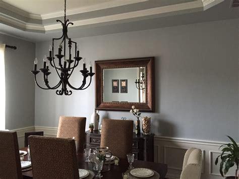 gray walls turn blue interior painting  flower mound tx