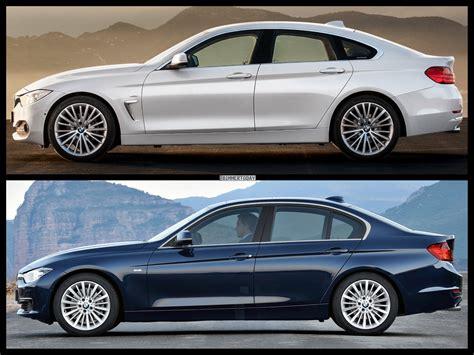3 Series Vs 4 Series Gran Coupe by Bmw 4 Series Gran Coupe Vs Bmw 3 Series Sedan