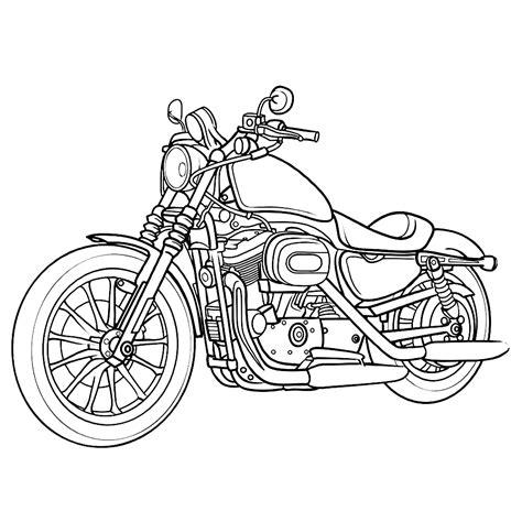 Kleurplaat Crossmotors by Leuk Voor Motor 0007