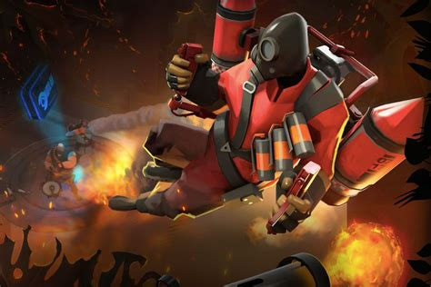 Team Fortress 2 Wallpaper Pyro 39 S Taking To The Sky With Team Fortress 2 39 S Jungle Inferno Update