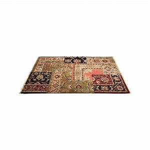 tapis carre persian patchwork 240x170 kare design With tapis carré design