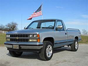 Nice 1989 4x4 Chevy Silverado Pick Up Truck 5 7 350 V