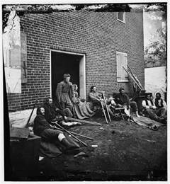 Civil War Wounded Soldiers