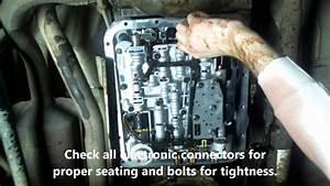 How To Change 4l60e Transmission Oil Fluid  U0026 Filter On A