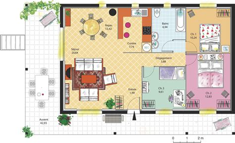 maison 2 chambres plan de maison duplex studio design gallery best