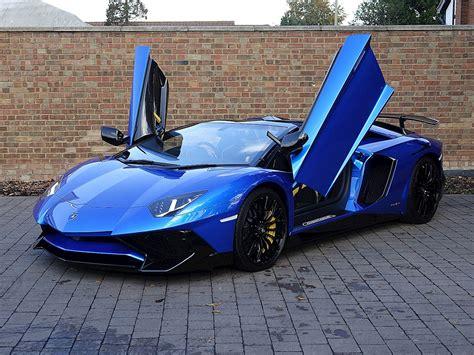 lamborghini aventador sv roadster blue 2016 used lamborghini aventador sv roadster blue nethuns