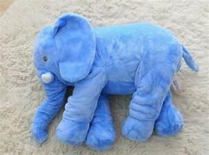 Peluche Elephant Geant : g ant l phant de couchage en peluche oreiller animaux en peluche id de produit 60519940797 ~ Teatrodelosmanantiales.com Idées de Décoration