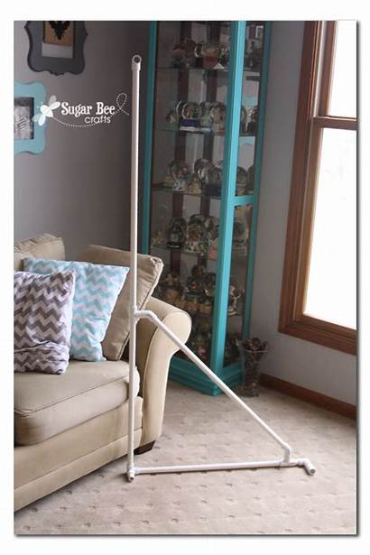 Backdrop Stand Diy Background Crafts Bee Pvc