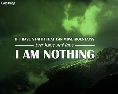 Corinthians Faith Christian Mountains Move Background Wallpapers