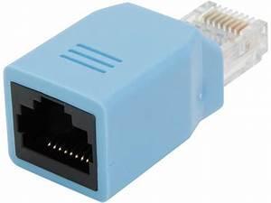 Startech Rollover Cisco Console Rollover Adapter For Rj45