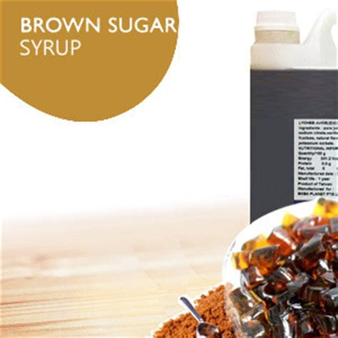brown sugar syrup brown sugar syrup archives boba planet singapore bubble tea ingredients supplier