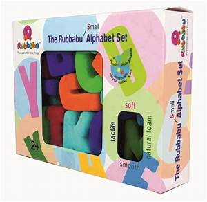 education essentials rubbabu alphabet uppercase large With large magnetic abc letters