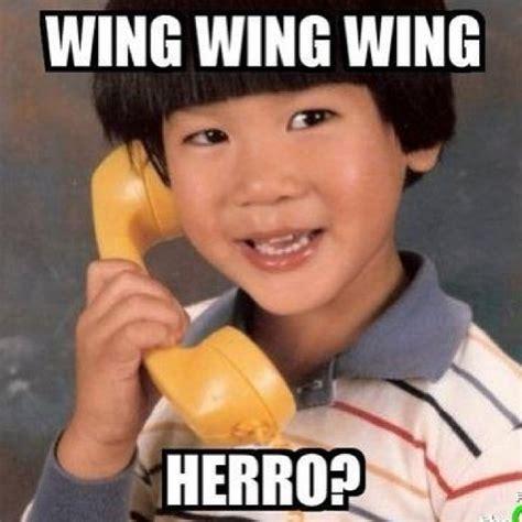 Meme Lai - wing wing wing herro funnies pinterest
