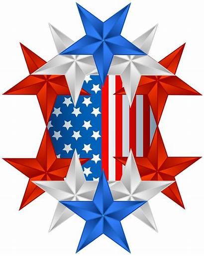 Memorial Flag Clipart Clip American Usa Transparent