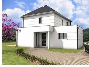 315 best maison a etage images on pinterest floor plans With modele de maison a construire