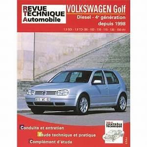 Revue Technique Golf 4 : revue technique automobile 622 2 golf iv diesel sdi tdi 90 150 cv 98 03 broch etai ~ Medecine-chirurgie-esthetiques.com Avis de Voitures